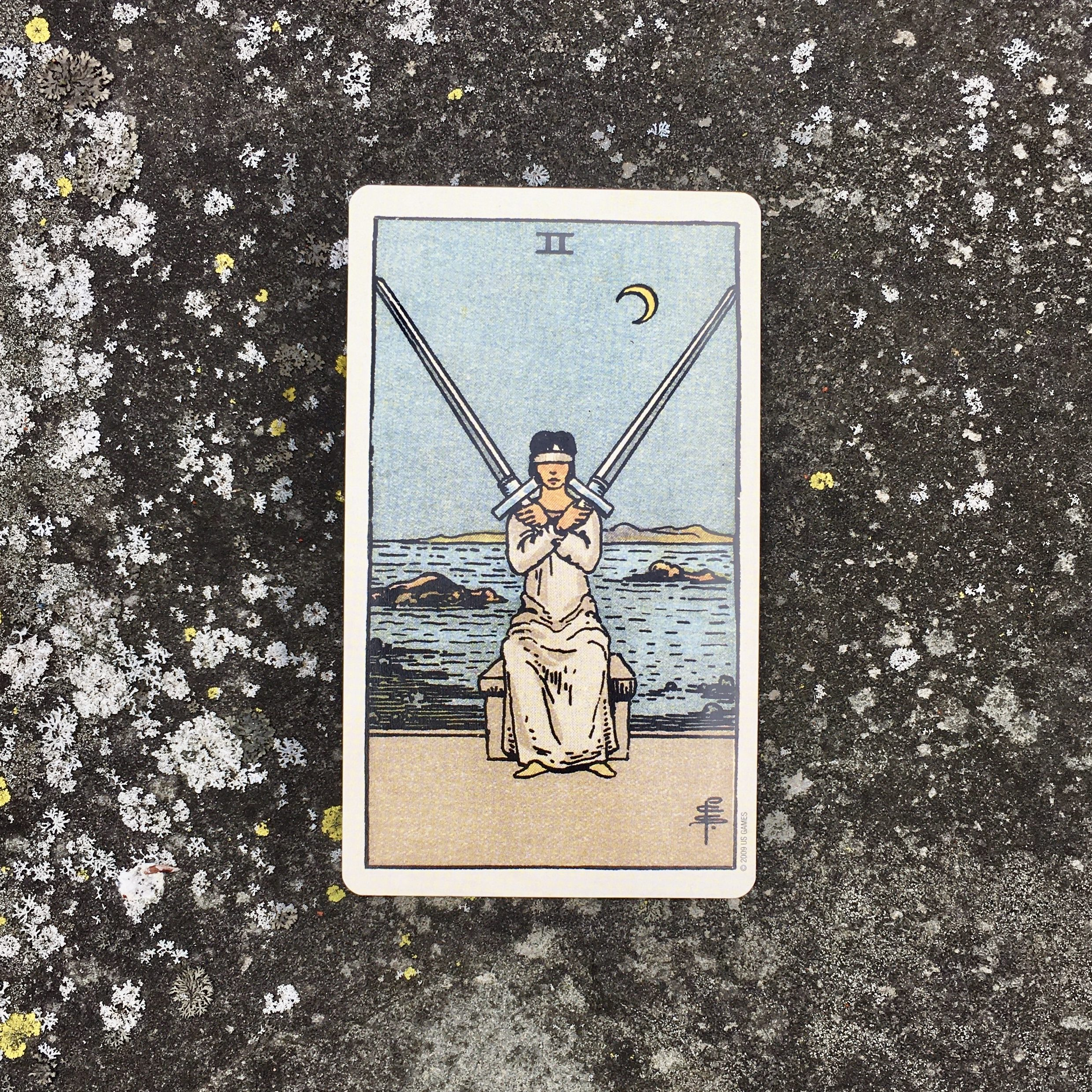 Tarot for Mindfulness and the Two of Swords: An Ally for Uncertain Times