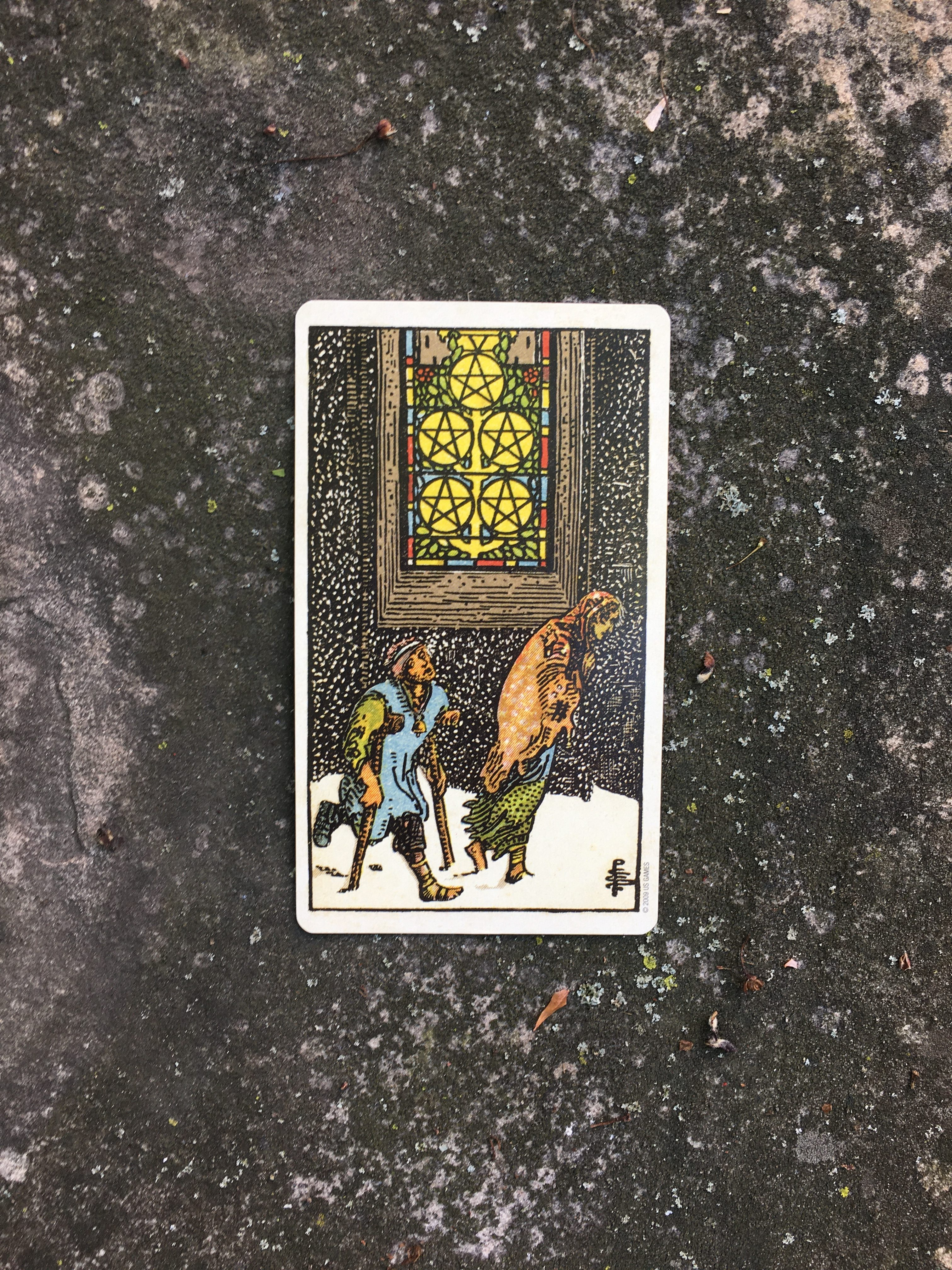 Tarot for Mindfulness and the Five of Pentacles: An Ally in Unpacking Our Discomfort
