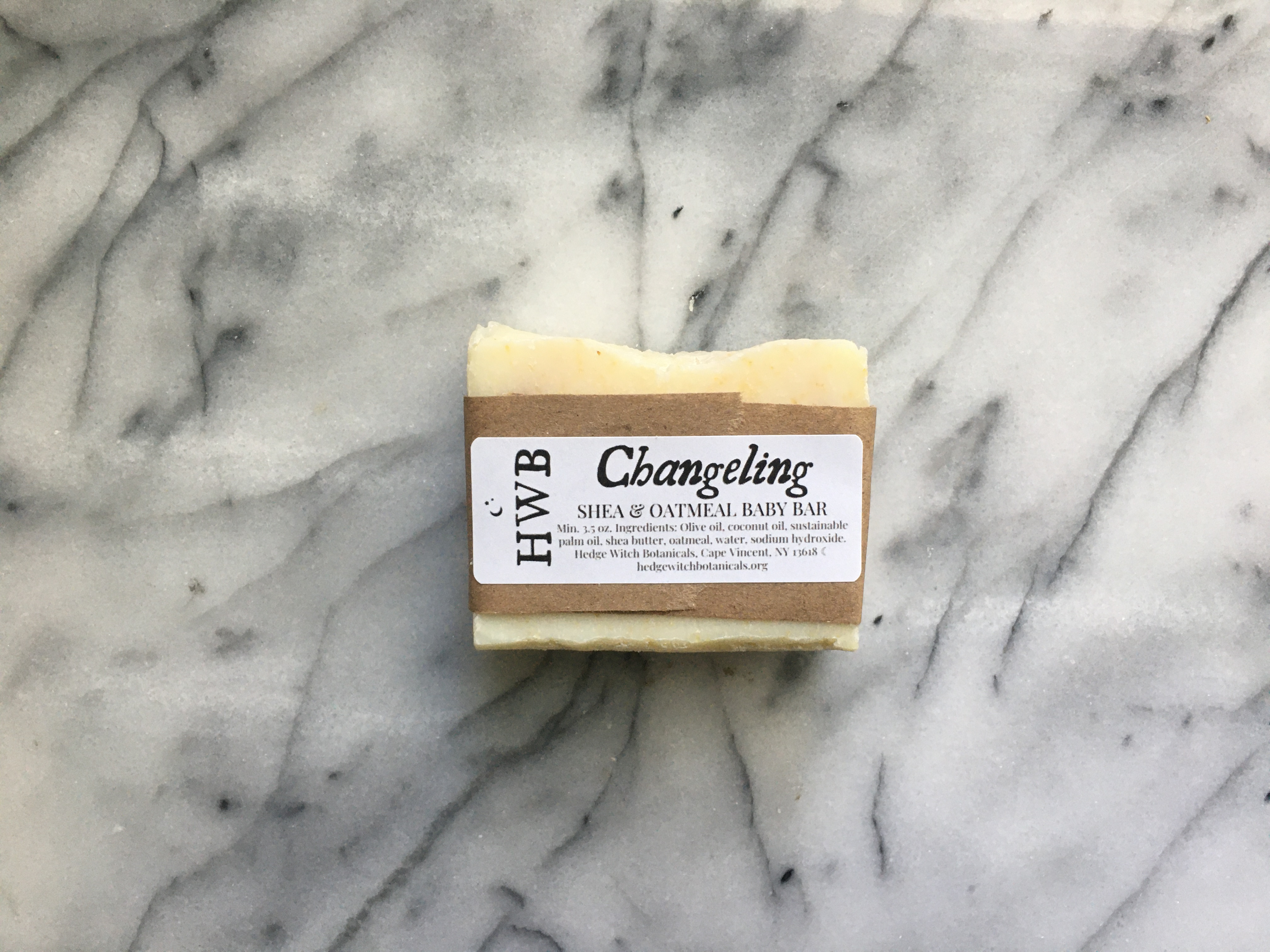 Changeling Unscented Baby Bar with Oatmeal & Shea Butter